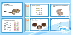 PlanIt Y3 Multiplication and Division Challenge Cards