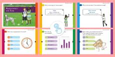 3rd Grade Measurement and Data Assessment Practice Quick Quiz