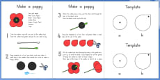 Make Your Own Poppy Instructions (Australia)
