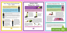 Adult Yoga Resource Pack