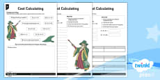 PlanIt Y3 Multiplication and Division Mental and Written Cool Calculating Home Learning Tasks