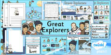 History: Great Explorers: KS1 Unit Additional Resources