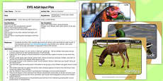 Farm Themed What's in the Box EYFS Adult Input Plan and Resource Pack