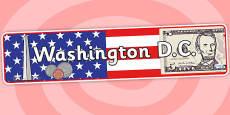 Washington DC Role Play Banner
