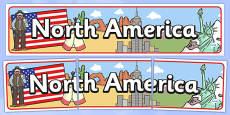 North America Display Banner