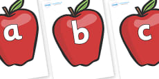 Phoneme Set on Red Apples