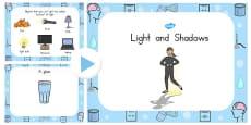 Australia - Light and Shadow PowerPoint