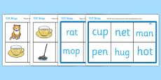 CVC Bingo Matching Card Game