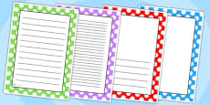 Polka Dot Page Borders