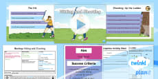 * NEW * PlanIt - PE Year 4 - Hockey Lesson 5: Hitting and Shooting Lesson Pack