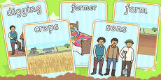 The Farmer and His Sons Display Posters