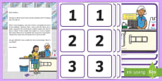 * NEW * Supermarket Checkout Counting Activity Resource Pack