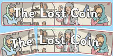 The Lost Coin Display Banner