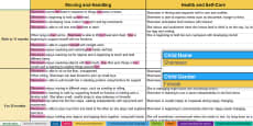 EYFS Report Writing Statements Birth to Exceeding with CoEL and General Comments