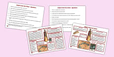 Lady Fu Hao Differentiated Reading Comprehension Activity