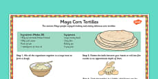 Maya Tortilla Recipe