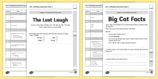 Year 1 Reading Assessment Paper 1 Term 1