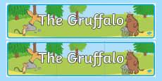 Australia - The Gruffalo Display Banner
