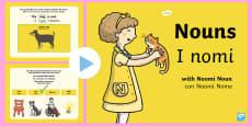 Nouns PowerPoint English/Italian