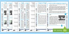 Emperor Penguin Life Cycle Differentiated Reading Comprehension Activity English/Romanian