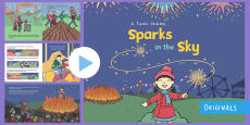 Sparks in the Sky Story PowerPoint