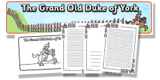 The Grand Old Duke Of York Resource Pack