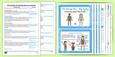 EYFS Ourselves All About Me My Body Discovery Sack Plan and Resource Pack