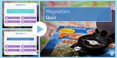 Magnetism Quiz PowerPoint