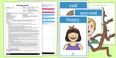 Sticks Have Feelings Too Circle Time Activity EYFS Adult Input Plan and Resource Pack