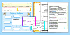 Use a Thesaurus Teaching Ideas and Resource Pack