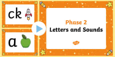Letters and Sounds Phase 2 PowerPoint