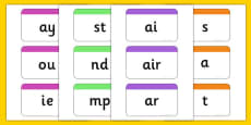 Phase 2-5 Phoneme Flashcards Pack