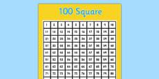 100 Square (Hundred Square)