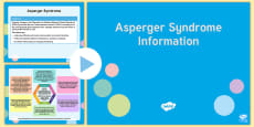 Asperger Syndrome Mind Map PowerPoint