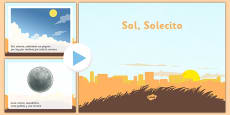Sol Solecito Nursery Rhymes Presentation Spanish