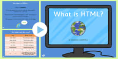 What is HTML PowerPoint