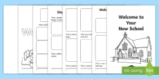 EAL Starter Welcome to Your New School Booklet