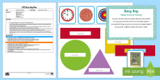 EYFS Shape Sorting Posting Busy Bag Plan and Resource Pack