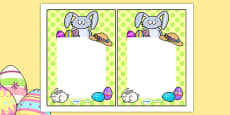 Easter Editable Notes