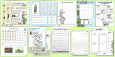 Jack and the Beanstalk Activity Sheets