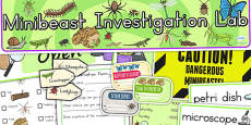 Minibeasts Investigation Lab Roleplay Pack - Australia