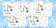 My Workbook L Uppercase