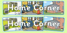 Home Corner Display Banner