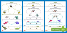 UAE EY Themed Addition Differentiated Activity Sheets