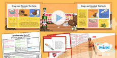 PlanIt - Science Year 6 - Animals Including Humans Lesson 6: Impact of Drugs and Alcohol Lesson Pack