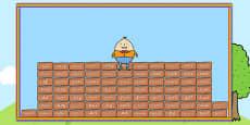 Ready Made Humpty Wall Keyword Display Pack