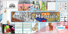 PlanIt - Science Year 1 - Everyday Materials Unit Additional Resources