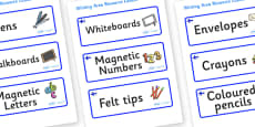 Finland Themed Editable Writing Area Resource Labels