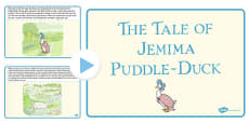 The Tale of Jemima Puddle-Duck PowerPoint (Beatrix Potter)