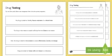 Drug Testing Sequencing Cards